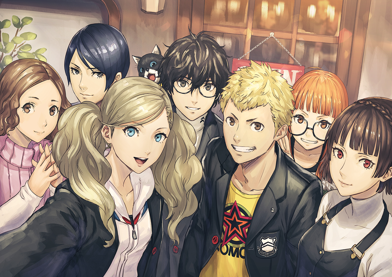 All Games Delta: 18 minutes of Persona 5 gameplay with Ann